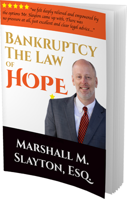 bankruptcy the law of hope book by Marshall M. Slayton